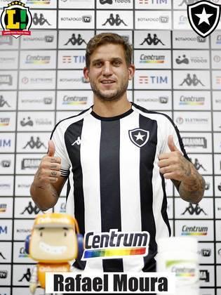 RAFAEL MOURA - 5,5 - Aumentou o brio do setor ofensivo do Botafogo assim que entrou em campo e chegou a balançar a rede. Contudo, a jogada foi anulada por impedimento.