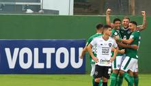 Goiás bate o rebaixado Botafogo e ainda 'respira' contra a queda