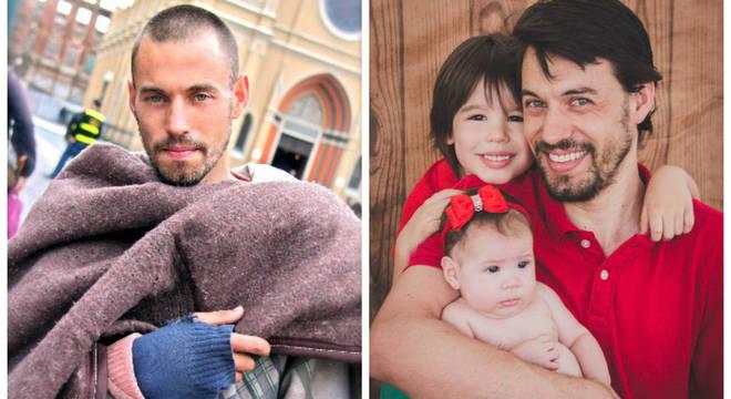 Rafael Nunes teve a vida recuperada após uma foto viralizar na internet