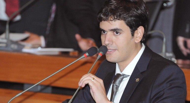 Presidente da Câmara Legislativa (CLDF), Rafael Prudente, que lidera a Casa desde 2019