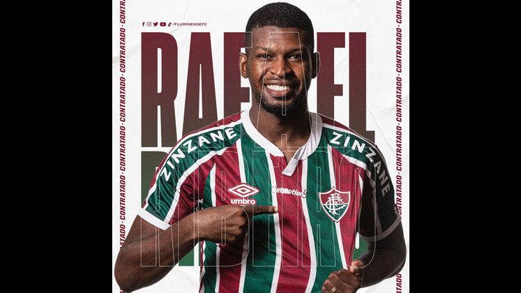 Rafael Ribeiro - zagueiro - 25 anos - contrato até 31/12/2021 (empréstimo)