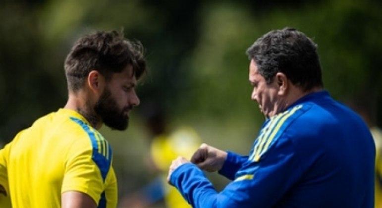 Rafael Sobis deve ser titular com Luxemburgo em seu jogo de estreia pelo Cruzeiro