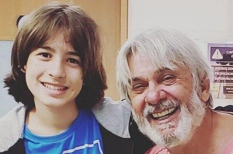 """Rafael Sun e José Carlos Machado nos bastidores de """"Gênesis"""""""