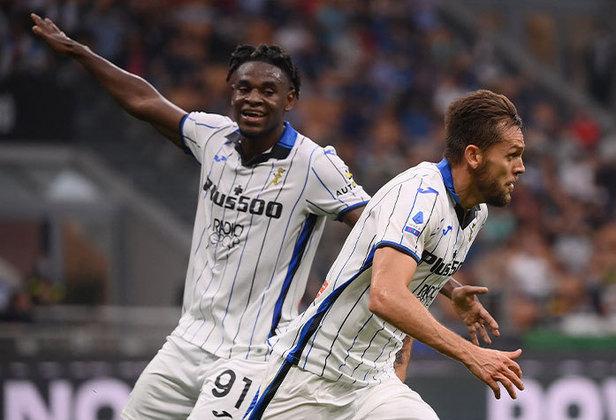 Rafael Tolói: naturalizado italiano, o ex-São Paulo e Goiás marcou o gol da virada da Atalanta no confronto com a Inter de Milão. O jogo, porém, terminou 2 a 2.