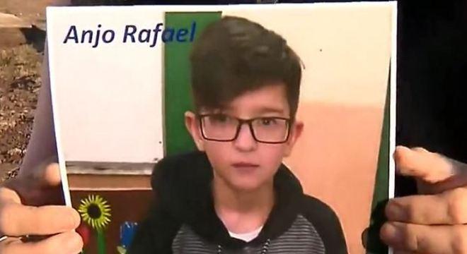 Laudo aponta que Rafael foi morto por asfixia e não por uso excessivo de remédio