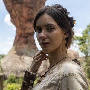 "Rafaela Sampaio, Naamá, em ""Gênesis"""