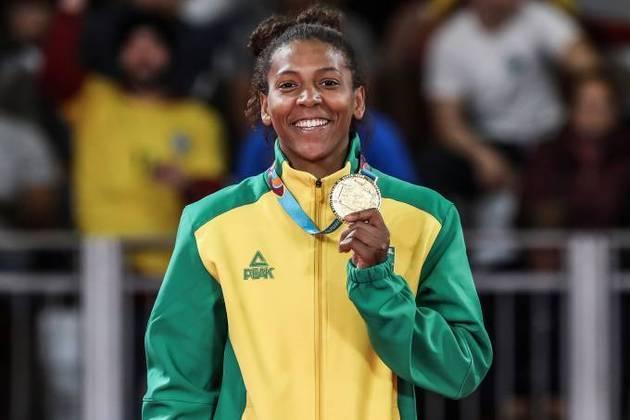 Rafaela Silva: campeã mundial em 2013 e olímpica em 2016, não participou de Tóquio, pois caiu no doping, mas a judoca deve chegar forte para os Jogos Olímpicos de Paris