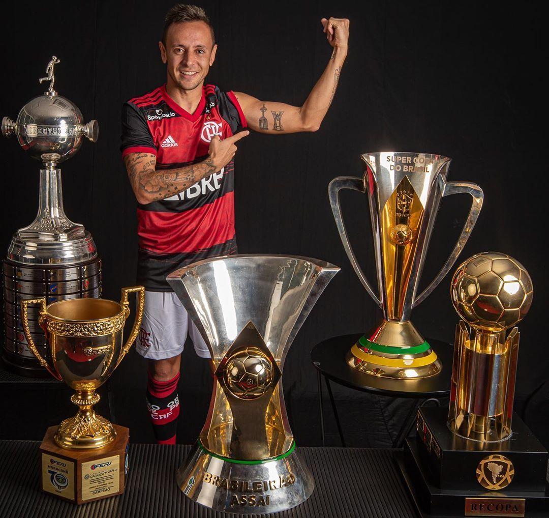 Rafinha conseguiu se impor como um dos grandes líderes do Flamengo