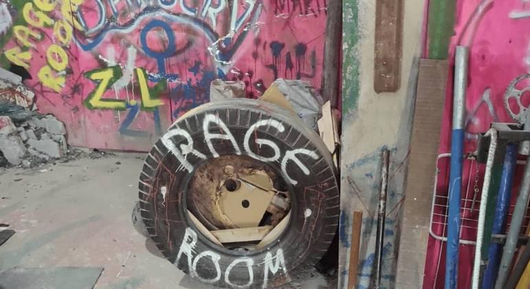 Rage Room em São Paulo - Espaço para extravasar sua raiva!
