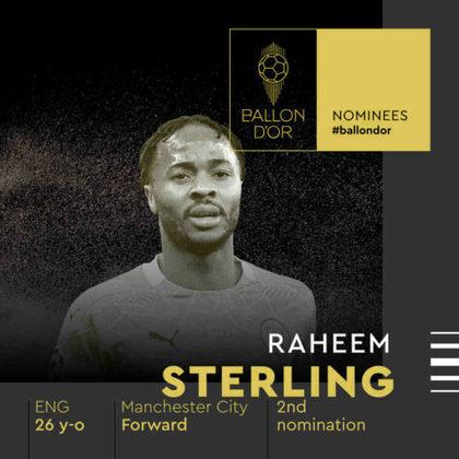 Raheem Sterling (inglês) - atacante - Manchester City