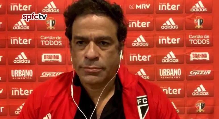 Raí deixou o cargo de executivo de futebol do São Paulo