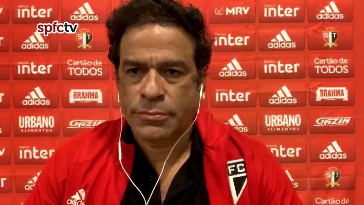 Nada do que Raí prometeu após o jogo contra o Ceará foi colocado em prática