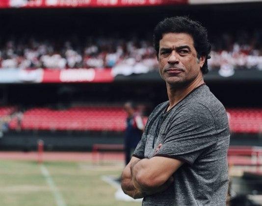RAÍ - Autor dos dois gols do São Paulo na decisão, aposentou-se no próprio clube, em 2000, e hoje é diretor de futebol do Tricolor.