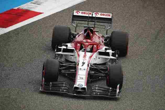 Räikkönen consegue segurar pontos?