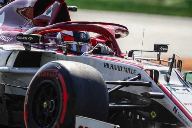 Räikkönen conseguiu o 14º posto no grid em Monza