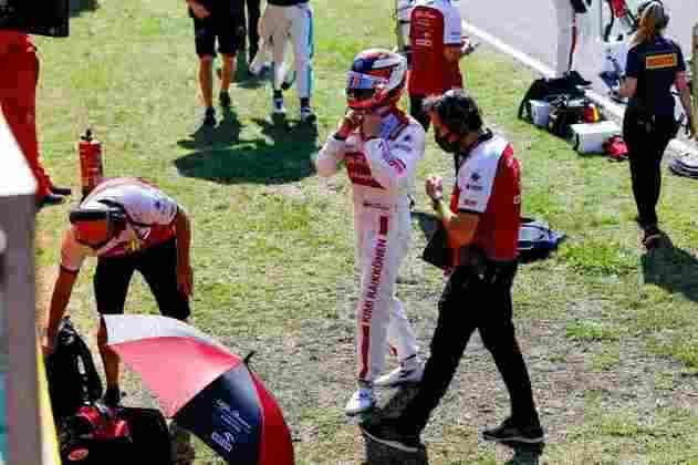 Räikkönen foi a surpresa do dia e terminou em nono lugar