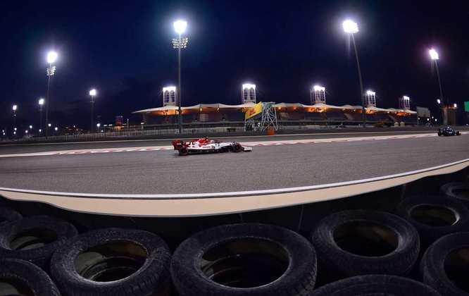 Räikkönen foi eliminado no Q1.