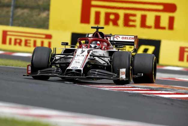 Räikkönen foi punido por colocar o carro na posição errada do grid de largada