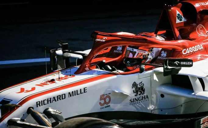 Räikkönen larga em 16º no GP de Portugal de 2020