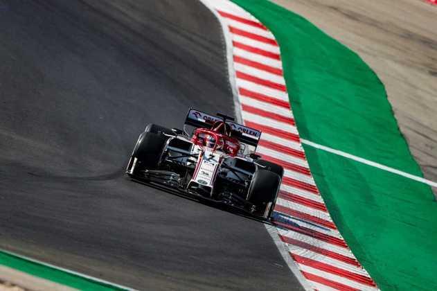 Räikkönen marcou 1min20s490 no TL2 do GP de Portugal