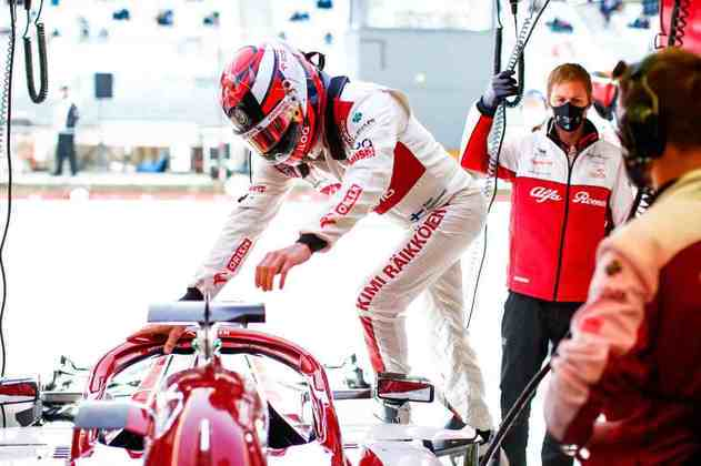 Räikkönen tem dois pontos somados em 2020