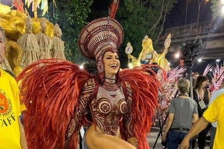 Raissa Machado disse estar 'confiante na vitória' da Viradouro