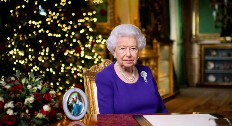 Rainha Elizabeth na mensagem anual de Natal no castelo de Windsor