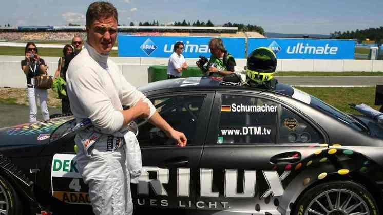 Ralf Schumacher passou pelo DTM entre 2008 e 2012.