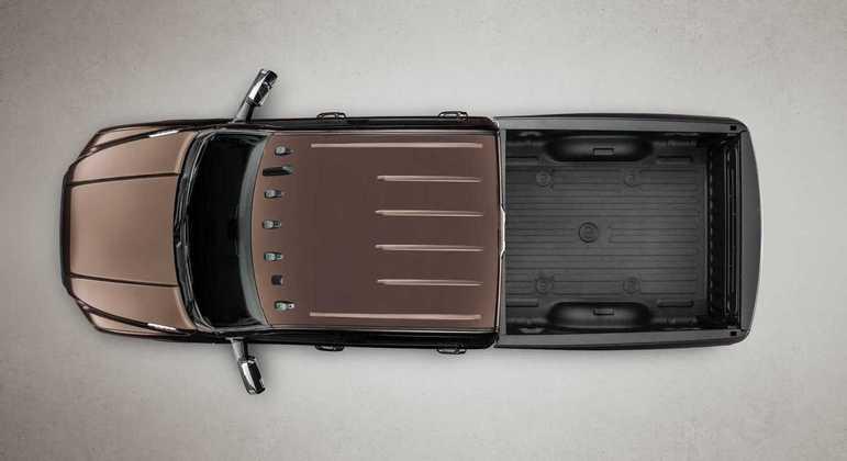 Carro tem capacidade de caçamba de 1.628 litros