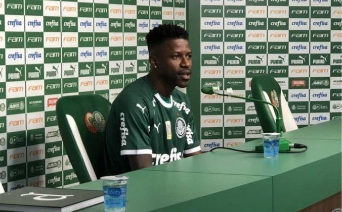 Ramires (34 anos) - Volante - Sem time desde novembro de 2020 - Último clube: Palmeiras - Valor de mercado: 1,5 milhão de euros (R$ 9,25 milhões)