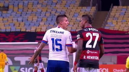 Ramírez volta a treinar no Bahia. Para o clube não houve ofensa racista a Gerson