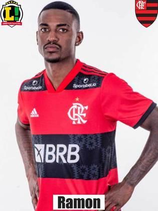 Ramon: 6,0 – Assim como Gustavo Henrique, atuou por menos de 20 minutos e teve pouco tempo para fazer algo.
