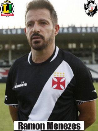 Ramon Menezes - 7,5 - O treinador conseguiu fazer o Vasco jogar de forma segura, sabendo se defender e sendo cirúrgico quando subia ao ataque.