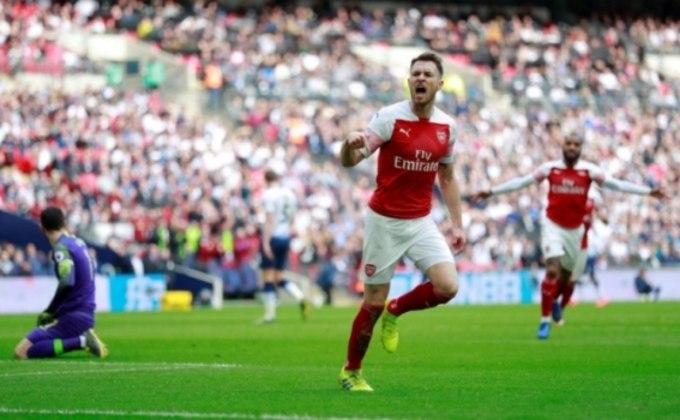 Ramsey abriu o placar para o Arsenal no clássico londrino