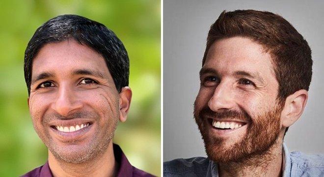 Randy Fernando (à esquerda) fundou com Tristan Harris (à direita) o Center for Humane Technology
