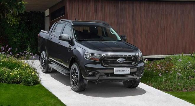 Ford Ranger Black está confirmada para o Brasil em 2023