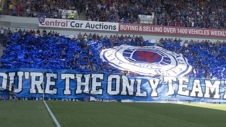 Rangers - Um dos clubes mais tradicionais da Escócia e da Europa, o Rangers foi rebaixado em 2012 para a quarta divisão escocesa após declarar falência.