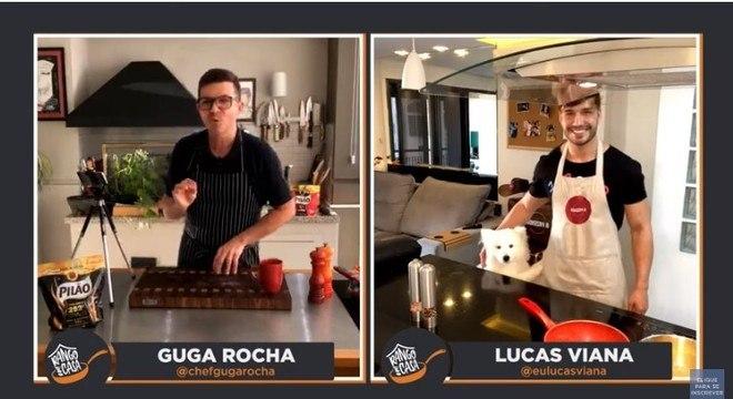 Lucas Viana tem uma torcida especial na disputa de Rango em Casa