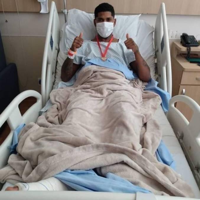 Raniel, de 24 anos, passou por cirurgia neste sábado (27) no Hospital AACD, em SP