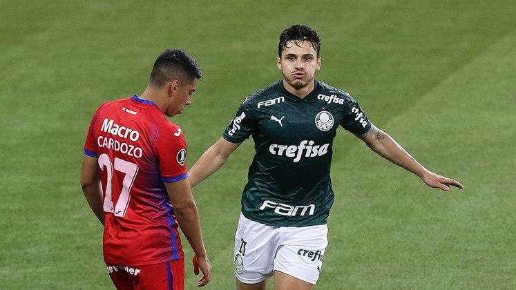 Raphael Veiga (meia) - oito jogos e quatro gols