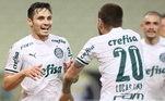 O meia-atacante é o terceiro artilheiro do Palmeiras na temporada, atrás de Luiz Adriano e Willian Bigode. Mesmo com metade do Brasileiro pela frente e as fases classificatórias da Copa do Brasil e da Libertadores ainda em disputa, ele já vive o melhor ano da carreira