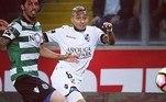 Ele então chegou ao Vitória de Guimarães, de Portugal. No dia 13 de março daquele mesmo ano, o brasileiro fez sua estreia pelo time português contra o Paços Ferreira. Sua história no Vitória de Guimarães durou até meados de 2018, quando foi negociado por 6,5 milhões de euros