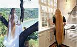 Ao contrário do que acontece nos contos de fadas, a alemãStefanie Classen, de 31 anos, não precisou ficar presa em uma torre distante para ver seus cabelos crescerem. Conhecida como Rapunzel da vida real, ela parou de cortar os fios aos 16 anos e, atualmente, seus cabelos medem 1,79m