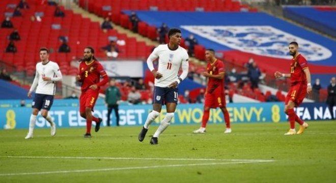 Rashford, logo após faze Inglaterra 1 X 1 Bélgica