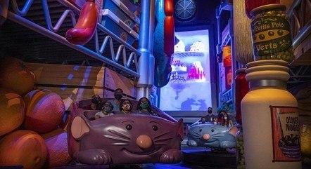 Atração baseada no filme 'Ratatouille' será inaugurada também em outubro