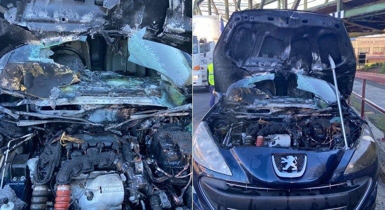 Ratos são suspeitos de terem provocado incêndio em automóvel em Moss Vale, na Austrália