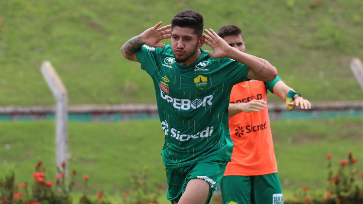 Raúl - 4 gols - Cuiabá - Campeonato Mato-Grossense