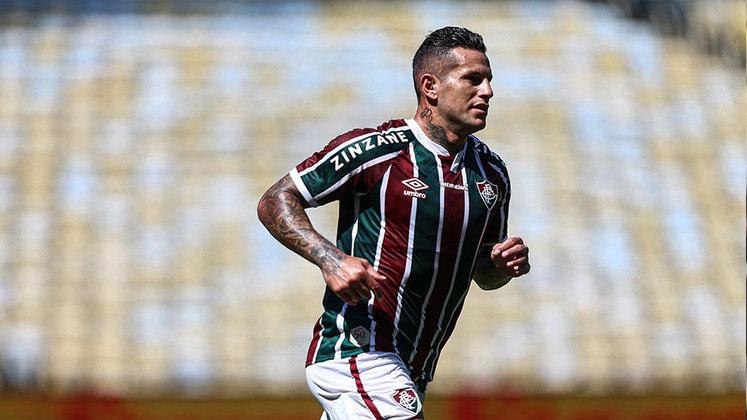 Raúl Bobadilla - Posição: Atacante - Clube: Fluminense - Idade: 34 anos - Valor de mercado segundo o Transfermarkt: 400 mil euros (aproximadamente R$ 2,5 milhões) - Contrato até: 31/12/2021.