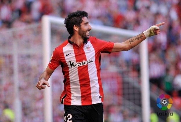 Raúl García, espanhol de 34 anos, tem contrato com o Athletic Bilbao até o final de junho de 2021.