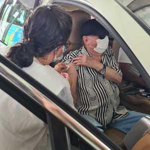 Raul Gil foi foi vacinado em 1º de março